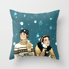 Kevin & Cas - Supernatural Throw Pillow