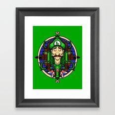 Luigi's Lament Framed Art Print