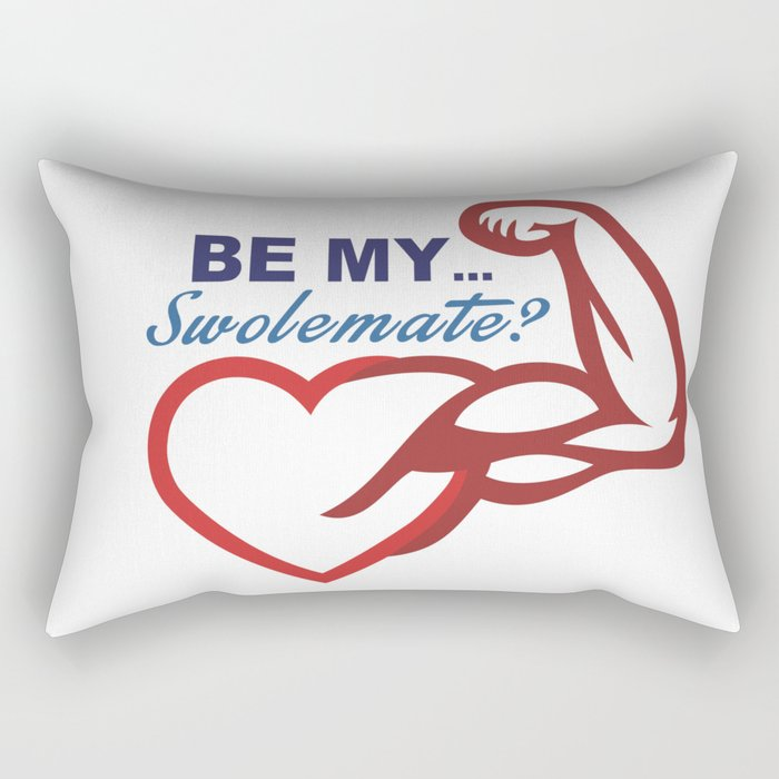 Be Mine? Rectangular Pillow