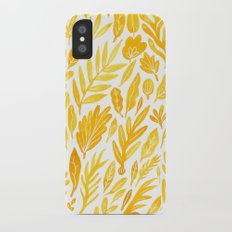 Dandelion Yellow iPhone X Slim Case