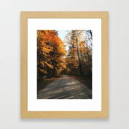 Pennsylvania Backroads Framed Art Print