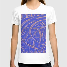 Junction - Blue and Orange T-shirt