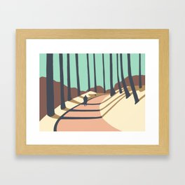 Natural Park Košíře-Motol Framed Art Print