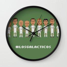Los Galacticos Wall Clock