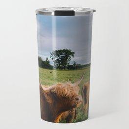 Highland Cows III Travel Mug