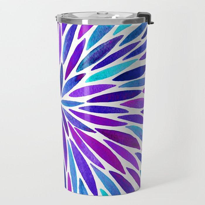 Lavender Burst Travel Mug