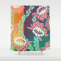 sunrise Shower Curtains featuring Sunrise by Vikki Salmela