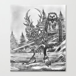 Sanctuary Guardian Canvas Print