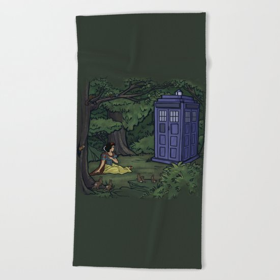Escape from the Dark Forest Beach Towel