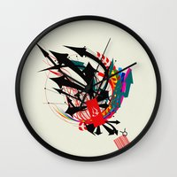taurus Wall Clocks featuring Taurus by Det Tidkun