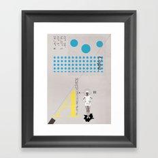 Copa. Framed Art Print