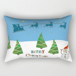 Christmas motif No. 1 Rectangular Pillow