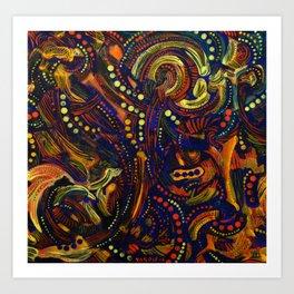 MEXICAN DEEP ENERGY Art Print