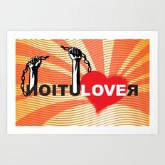 Love Revolution Art Print