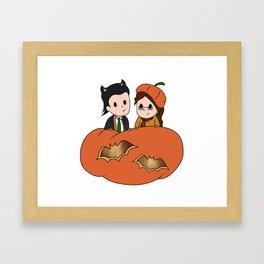 Tasertricks Halloween 2015 Framed Art Print