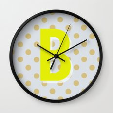 B is for Beautiful Wall Clock