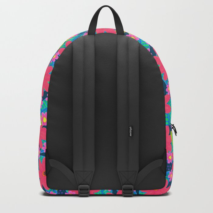 Flowers mix pattern Backpack