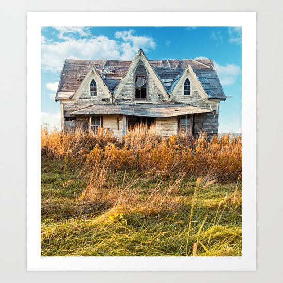 October Home Art Print