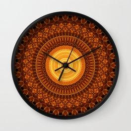 Chamber of Light Mandala Wall Clock