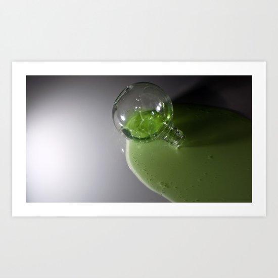 radioactive superhero juice... Art Print
