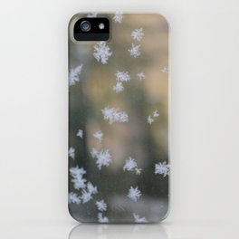 "It's frosty ""Ice Flower"" #2 #art #society6 iPhone Case"