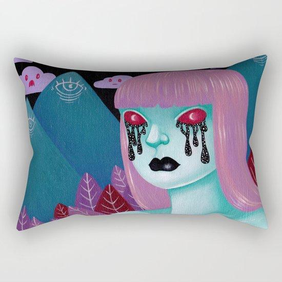 cry me a universe Rectangular Pillow