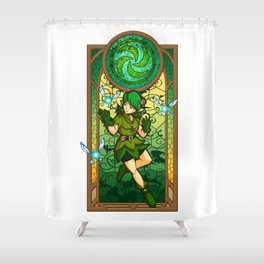 Sage of the Forest Shower Curtain