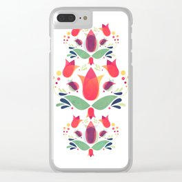 Gardens of V Clear iPhone Case