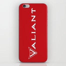 63 Valiant - Badge Mural iPhone Skin