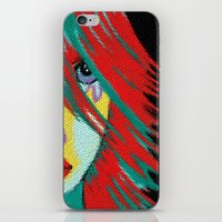 indie iPhone & iPod Skins featuring Mosaic Indie by Sartoris ART