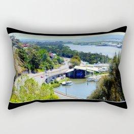 West Tamar Highway Launceston Tasmania Australia Rectangular Pillow