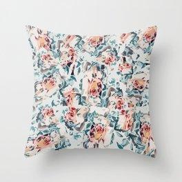 Flowers B2 Throw Pillow