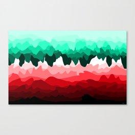 Echo in Emerald Canvas Print