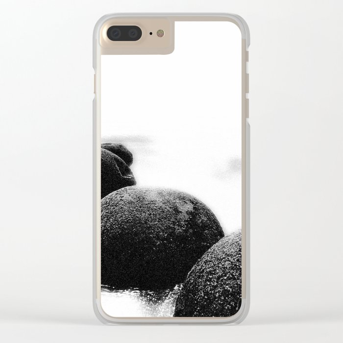 Stones Clear iPhone Case