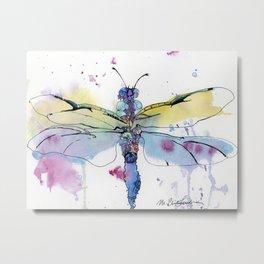 Dragonfly series: Winged Summer Metal Print