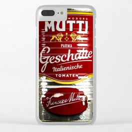 Tomatos Clear iPhone Case