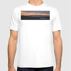Colorado Vista Sunset Panorama Mens Fitted Tee White MEDIUM