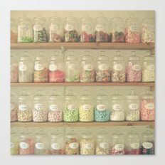 Sweet Shop Canvas Print