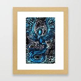 Team Mystic Blue Framed Art Print