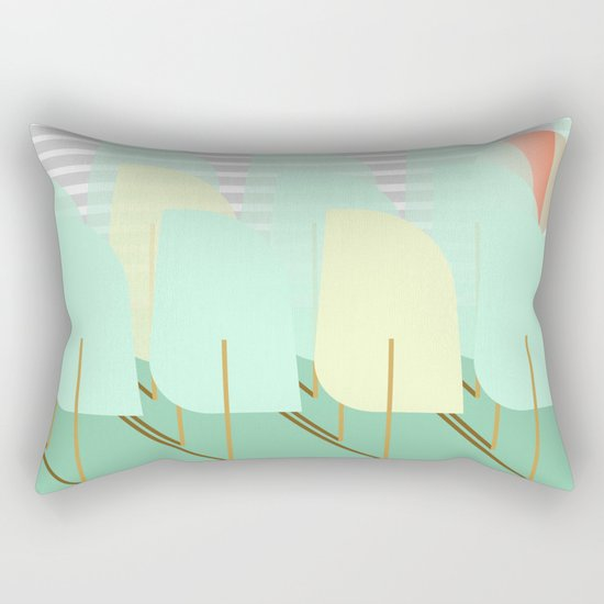 Forest II Rectangular Pillow