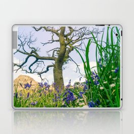 Amongst the Dusty Bluebells Laptop & iPad Skin