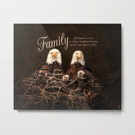Family is Forever Metal Print