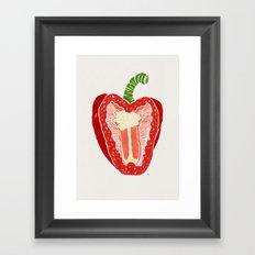 Red Pepper Framed Art Print