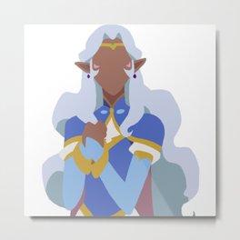 Princess Allura - Voltron Legendary Defender Metal Print