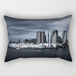 Turbulent Tokyo Rectangular Pillow