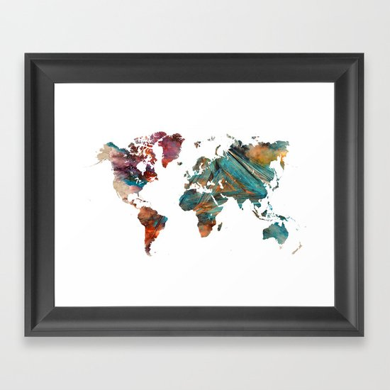 Map of the World triangle by jbjart