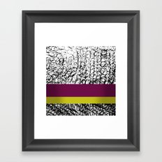 BEAUTY OF CONFUSIONS Framed Art Print
