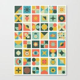 Geometric pattern #2 Canvas Print
