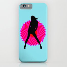 Hot Spot II iPhone Case