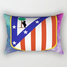 Atletico Madrid FC Galaxy Rectangular Pillow